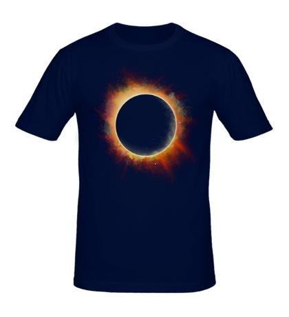 Мужская футболка Солнечное затмение