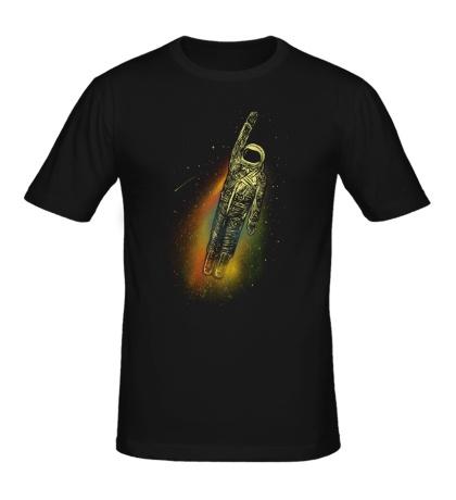 Мужская футболка Космический полет