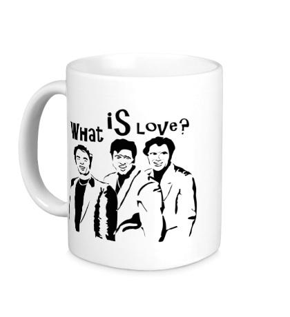 Керамическая кружка What is love?
