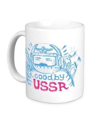 Керамическая кружка Goodbye USSR