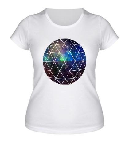 Женская футболка Space Geodesic