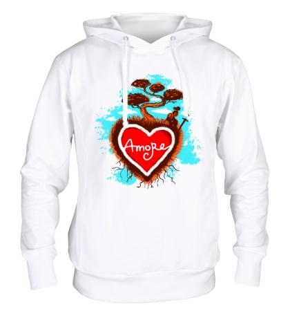 Толстовка с капюшоном Amore Love
