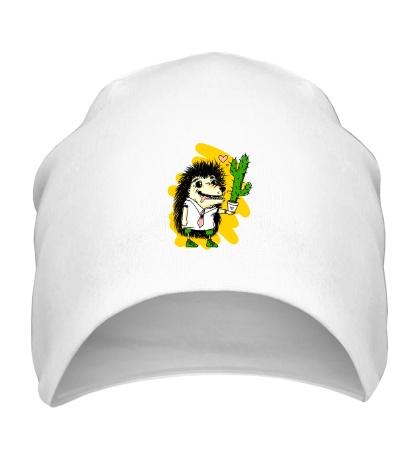 Шапка Ежик с кактусом