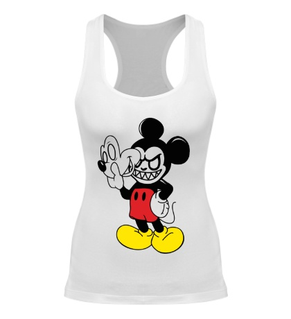 Женская борцовка Evil Mickey Mouse