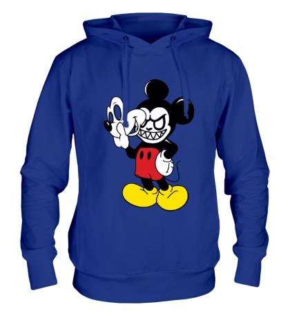 Толстовка с капюшоном Evil Mickey Mouse