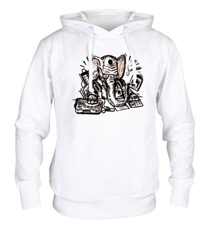 Толстовка с капюшоном DJ Elephant