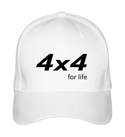 Бейсболка 4x4 for Life