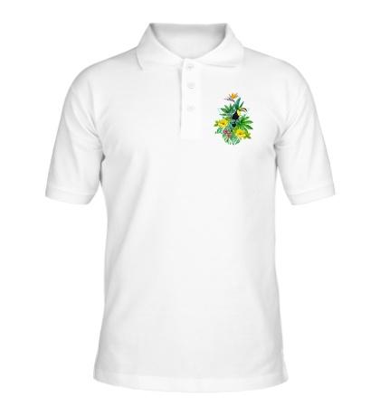 Рубашка поло Тропический сад