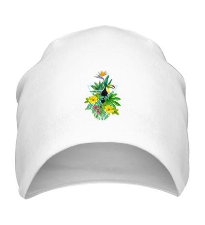 Шапка Тропический сад