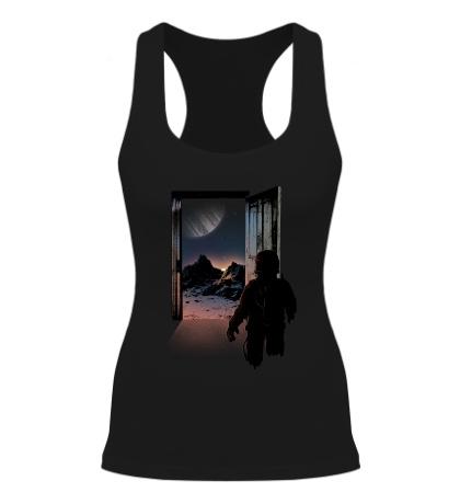 Женская борцовка Дверь в космос
