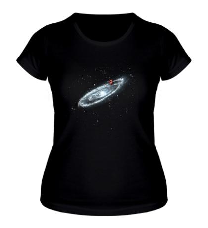 Женская футболка Последняя галактика