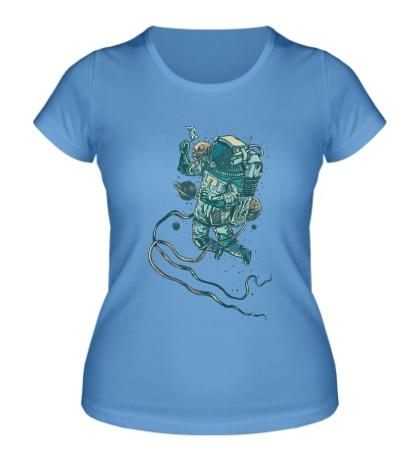 Женская футболка Мир в космосе