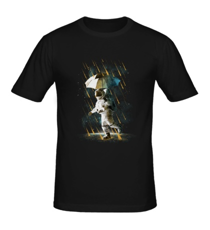 Мужская футболка Метеоритный дождь