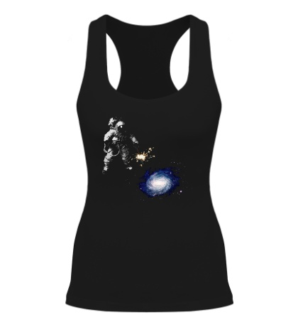 Женская борцовка Освещая галактику