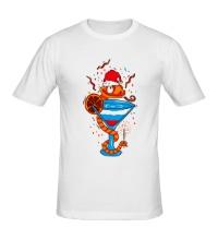 Мужская футболка Пьяная змея
