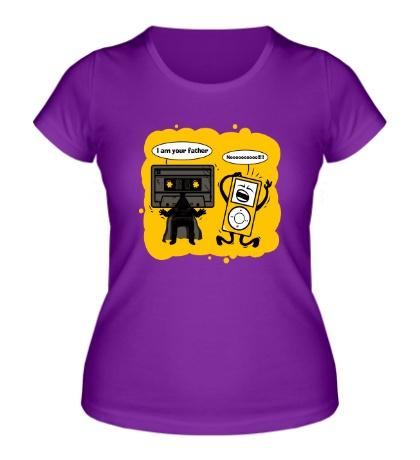 Женская футболка I am your father