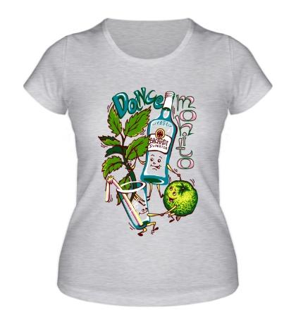 Женская футболка Mohito dance