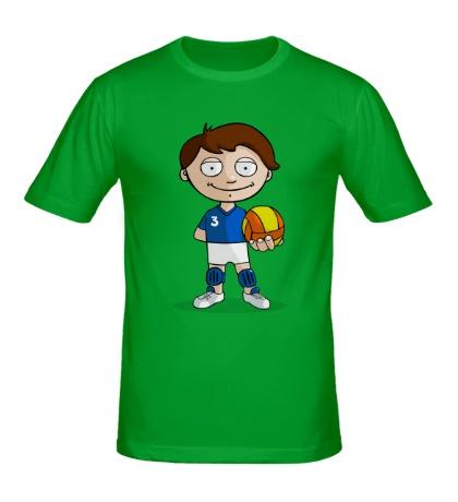 Мужская футболка Volleyball Boy
