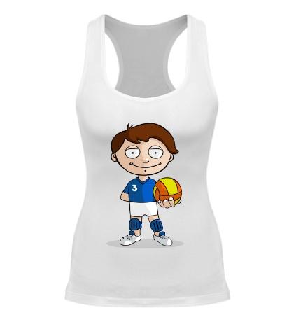 Женская борцовка Volleyball Boy