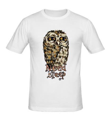 Мужская футболка Owl Need Steep