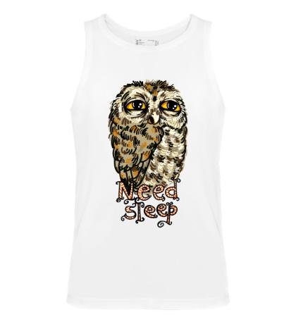 Мужская майка Owl Need Steep