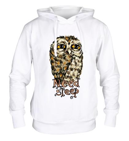 Толстовка с капюшоном Owl Need Steep