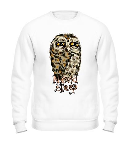 Свитшот Owl Need Steep