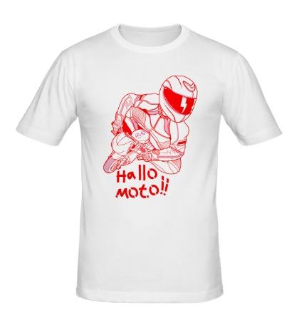 Мужская футболка Привет Мото