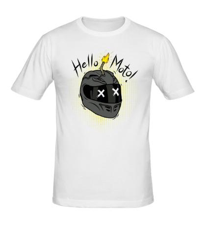 Мужская футболка Hello Moto