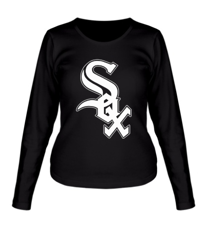 Женский лонгслив Chicago White Sox