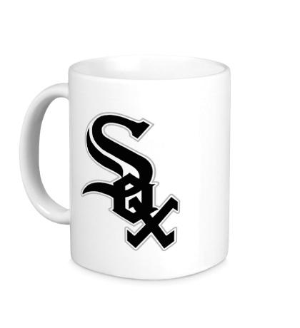 Керамическая кружка Chicago White Sox