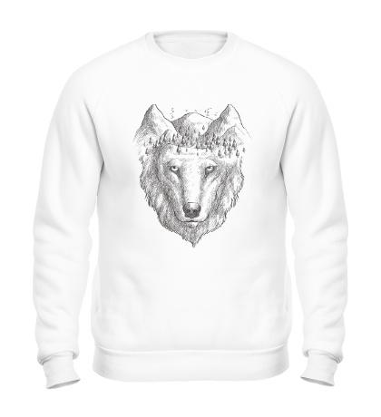 Свитшот Взгляд волка