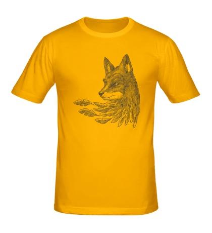 Мужская футболка Взгляд лисы