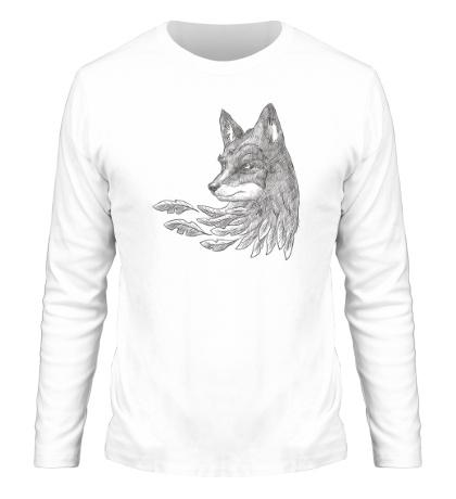 Мужской лонгслив Взгляд лисы