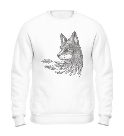 Свитшот Взгляд лисы