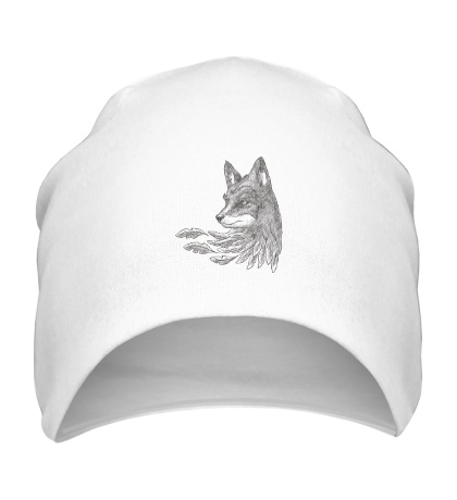 Шапка Взгляд лисы