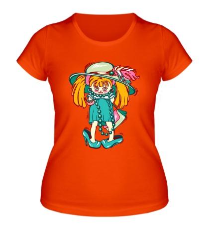 Женская футболка Девочка припевочка