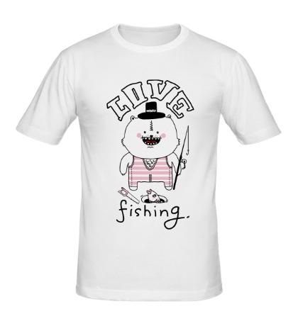 Мужская футболка Love Fishing