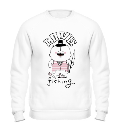 Свитшот Love Fishing