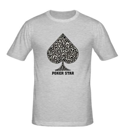 Мужская футболка Poker Star game