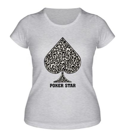 Женская футболка Poker Star game