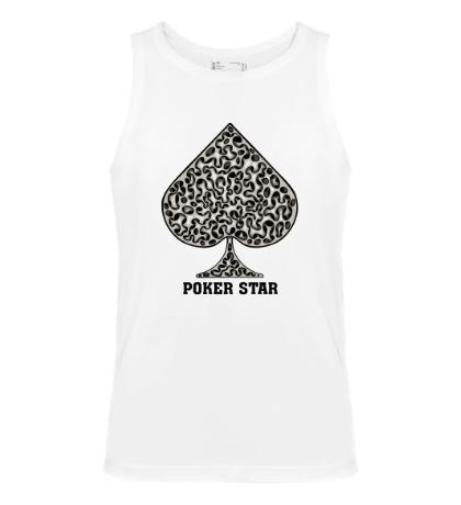 Мужская майка Poker Star game