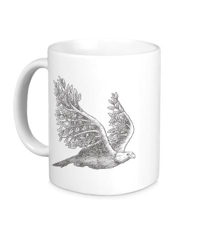Керамическая кружка Взмах орла