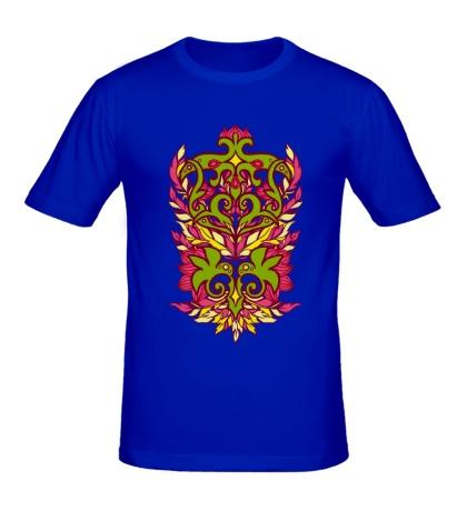 Мужская футболка Узор с перьями