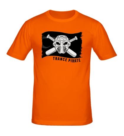 Мужская футболка Trance pirate