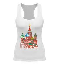 Женская борцовка Моя Москва