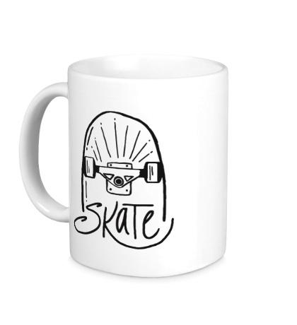 Керамическая кружка My Skate