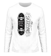 Мужской лонгслив Skateboard Life