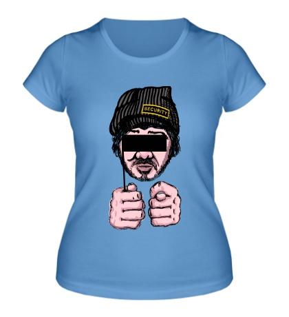 Женская футболка Александр Бородач