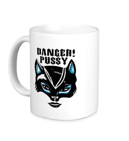 Керамическая кружка Danger Pussy